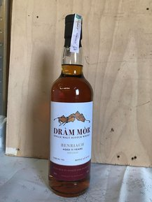 BenRiach 11 Year Old (cask 196) - Dràm Mòr (70cl, 58%)